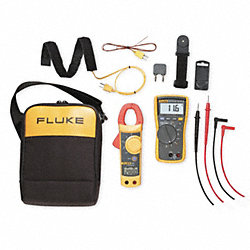 HVAC DMM and Clamp On Kit