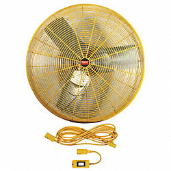 Safety Yellow AirCirc, 24 In, 6100cfm, 115V