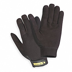 Mechanics Gloves, Black, M, PR