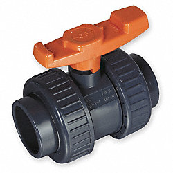 CPVC BV, Union, Socket/FNPT, 1-1/4 In