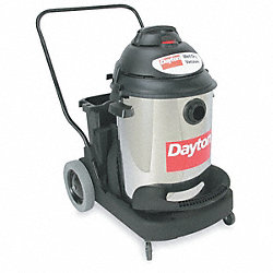 Wet/Dry Vacuum, Long Life, Stainless, 16 G