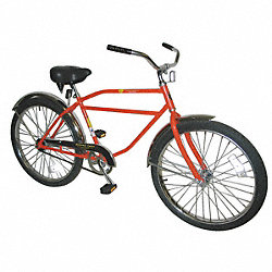 Bicycle, Coaster Brakes, 26 In Wheel, Black