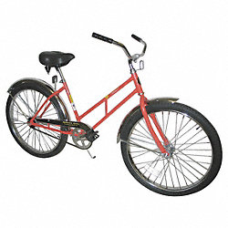 Bicycle, Ladies Style, 26 In Wheel, Orange