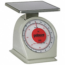 Washable Mechanical Scale, 40 lb. Cap.