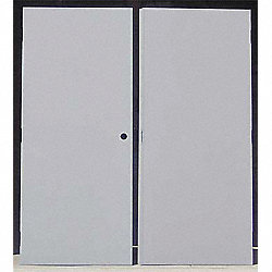 Flush Double Door 96 X 84 CU