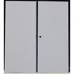 Flush Double Door, Type CE, Steel, PK 2