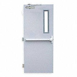 Security Door, Type CU, Steel