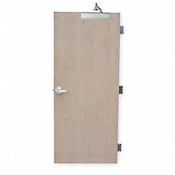 Security Door, Type CE, Red Oak Veneer