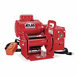 Electric Winch, 16-3/4 In. W, 18 In. L
