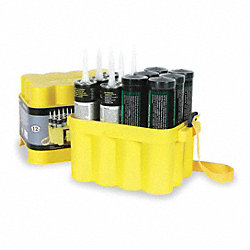 Grease Storage Box, 12 Tubes, 12 to 14 oz