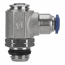 Speed Control Valve, 1/4 In Pipe Sz, Brass