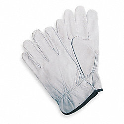 Leather Drivers Gloves, Goatskin, XL, PR
