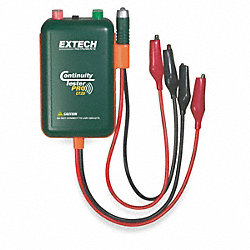 Continuity Tester, 9V, 9 In Test Leads