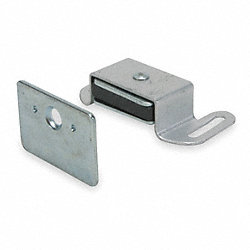 Magnetic Catch, Reversible, Aluminum