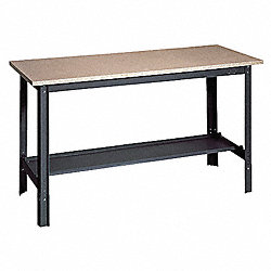 Workbench, 48Wx24Dx29 to 34 in. H