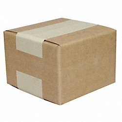 Shipping Carton, Brown, 18 In. L, 18 In. W