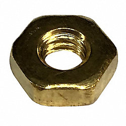 Hex Nut, Machine, M8 x 1.25mm, PK 250