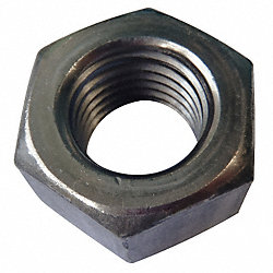 Hex Nut, Machine Screw, 6-32, PK 100