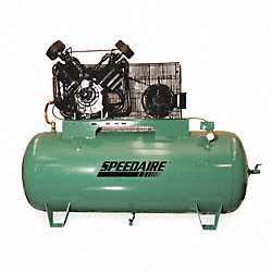 Electric Air Compressor, 2 Stage, 34.8 cfm