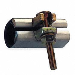 Repair Clamp, Single Bolt, 2 In, 304 SS