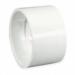 Coupling, PVC, 1 1/2 In, 140 Deg F