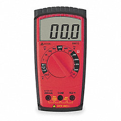 Compact Digital Multimeter, 600V, 2 MOhms