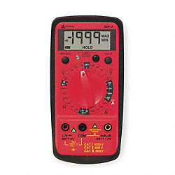 Compact Digital Multimeter, 750V, 20 MOhms