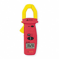 Digital Clamp On Ammeter, 400A
