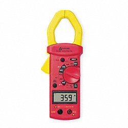 Digital Clamp On Ammeter, 600A, 4000 Ohms