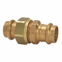 Union, PxP, 1 1/2 In, Bronze, 200 PSI