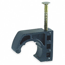 J-Clamp Tubing Fastener, 3/4In PEX