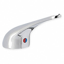 Metal Handle Kit, 1 Handle, Chrome