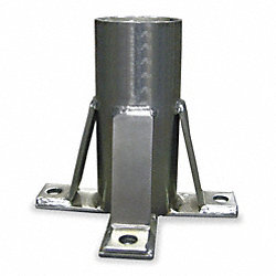 Hoist Floor Mount Sleeve, Steel