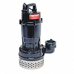 Submersible Sump Pump, 1/2 HP, 4.5 Amps