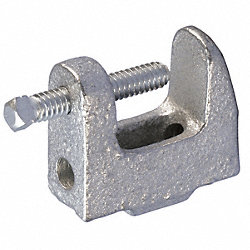 Reversible Beam Clamp, 1/4 In, 250 lb Max