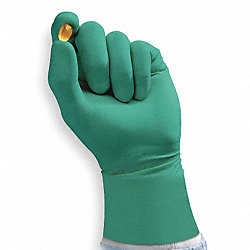 Cleanroom Gloves, Size 8-1/2, 7 mil, PK 200
