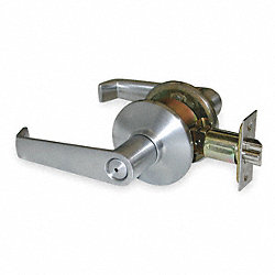 Lever Lockset, Elan, Chrome, Privacy