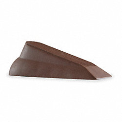 Door Wedge, Brown, 4-3/4 In. L