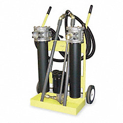 Oil Filter Cart, 500 SUS Max Viscosity