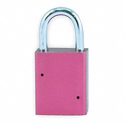 Padlock, Heavy Duty, Alum, Keyed Different