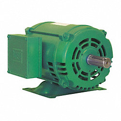 Mtr, 3 Ph, 3 HP, 3430, 208-230/460V, Eff 86.5