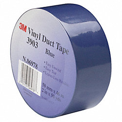 Duct Tape, 2 x 50 yd, 6.3 mil, Blue, Vinyl
