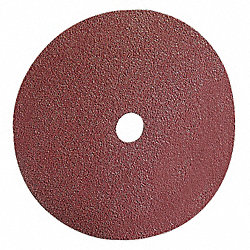 Arbor Mt Sanding Disc, 7x7/8in, 24G, PK25