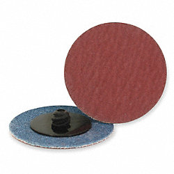 Locking Disc, AlO, 3in, 36 Grit, TR, PK25