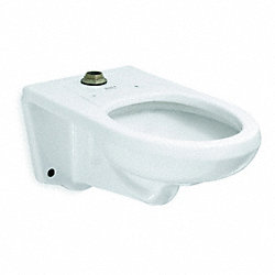 Flush Valve Toilet, Wall, 1.28 or 1.6GPF