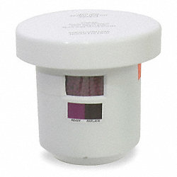Color Changing Activated Carbon Filter