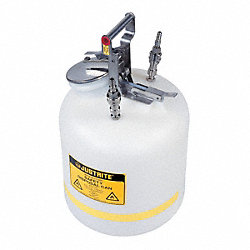 HPLC Waste Can, 5 Gal., PTFE