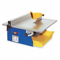 Prtbl Tile Saw, Wet Cut, Elc, 7 In. Blade