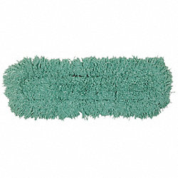 Dust Mop, Green, 60 In. L, 5 In. W
