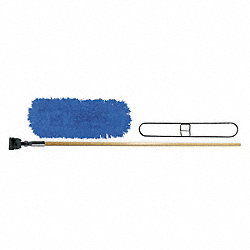 Dust Mop Kit, Synthetic, 60 In, Launderable